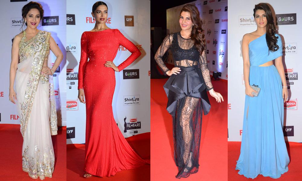 LXP - Amazing Bollywood Red Carpet Highlights 2016 Women Gala Dresses