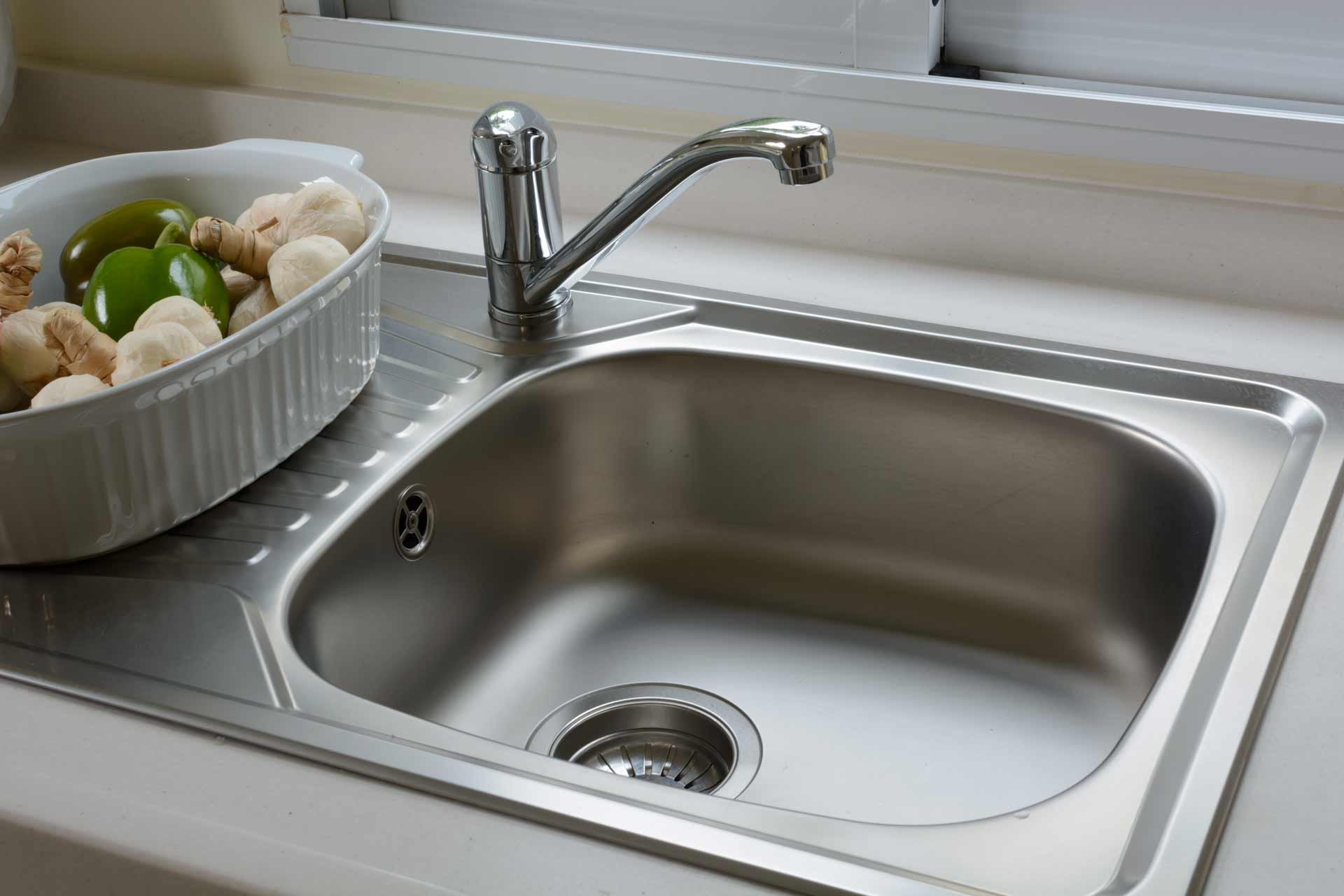 charming How To Clean A Smelly Kitchen Sink #6: Fix A Smelly Kitchen Drain Zitzat
