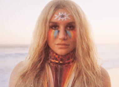 kesha praying single blonde beautiful woman with make up lxp grow through experience