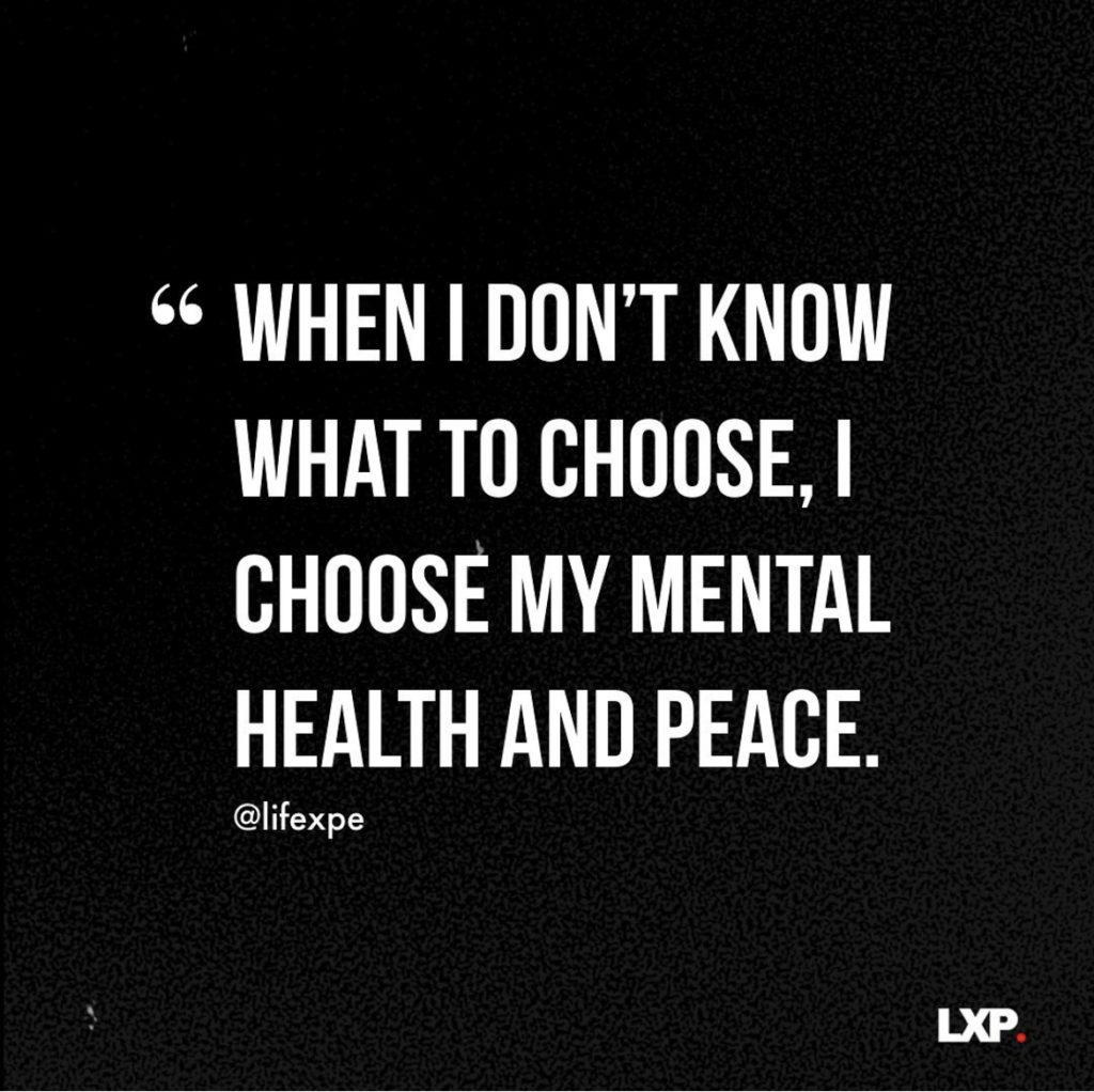 Choose mental health LXP quote