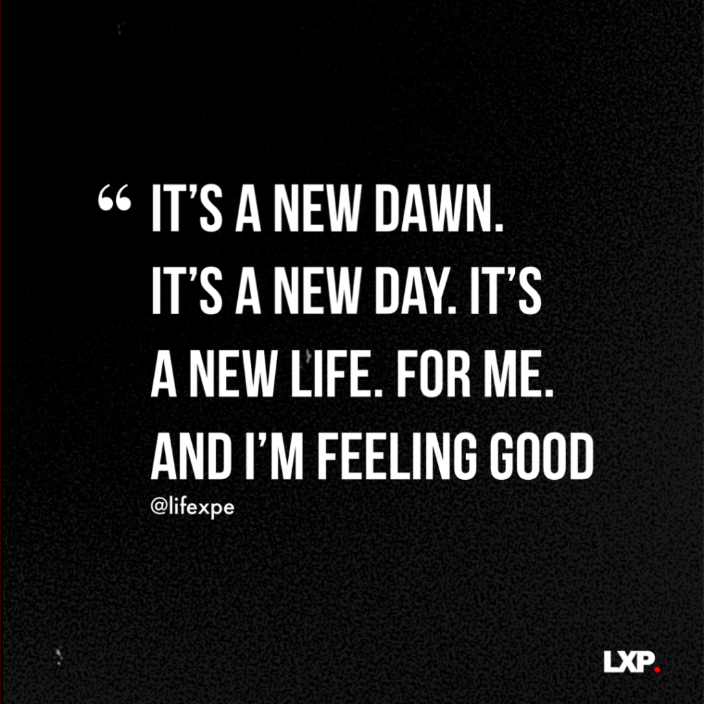 It's a New Day And a New Opportunity